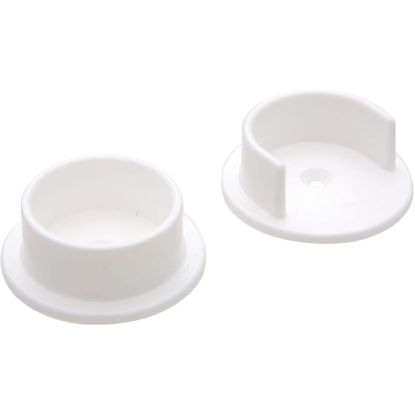 Picture of National 1-3/8 In. Plastic Closet Rod Socket, White (2-Pack)