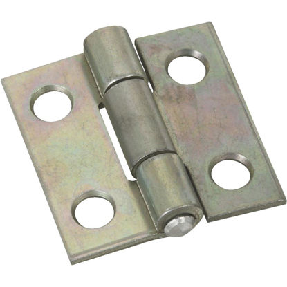 Picture of National 1 In. Zinc Tight-Pin Narrow Hinge (2-Pack)