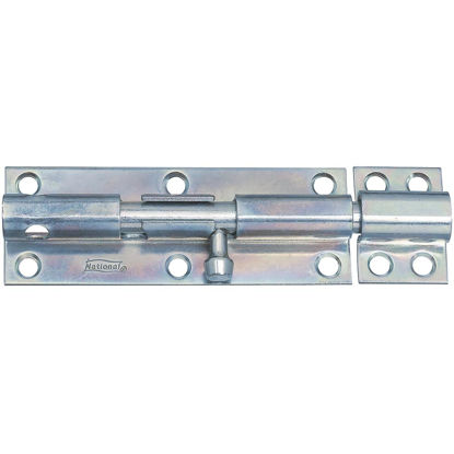 Picture of National 6 In. Zinc Heavy Barrel Bolt