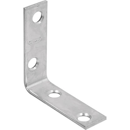 Picture of National Catalog 115 2 In. x 5/8 In. Zinc Corner Brace