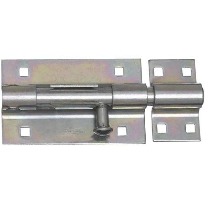 Picture of National 5 In. Zinc Extra Heavy Door Barrel Bolt