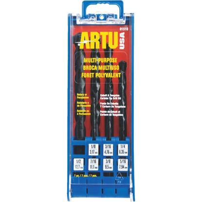 Picture of ARTU 7-Piece Multi-Purpose Drill Bit Set