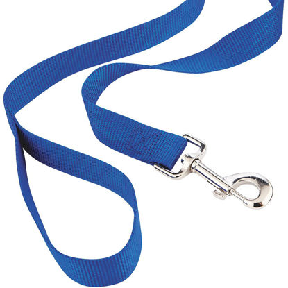 Picture of Westminster Pet Ruffin' it 6 Ft. Red, Black, or Blue Nylon Dog Leash