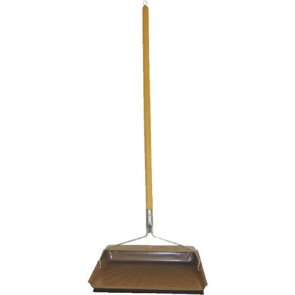 Picture of Fulton 30 In. Long Handle Dust Pan with Rubber Edge