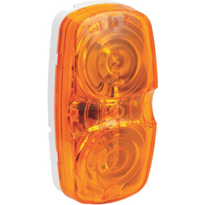 Picture of Peterson Low-Profile 12 V. Amber Clearance Light