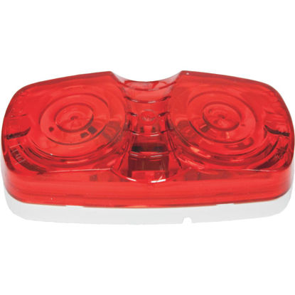 Picture of Peterson Low-Profile 12 V. Red Clearance Light