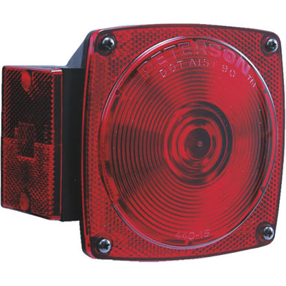 Picture of Peterson 12 V. 8-Functions Red Combination Lamp