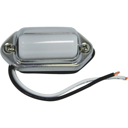 Picture of Peterson Chrome Plated Brass License Illuminator