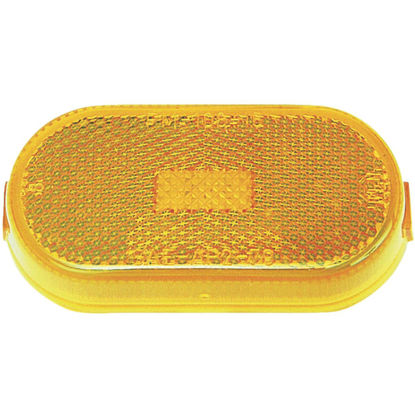 Picture of Peterson Oblong 12 V. Amber Clearance Light