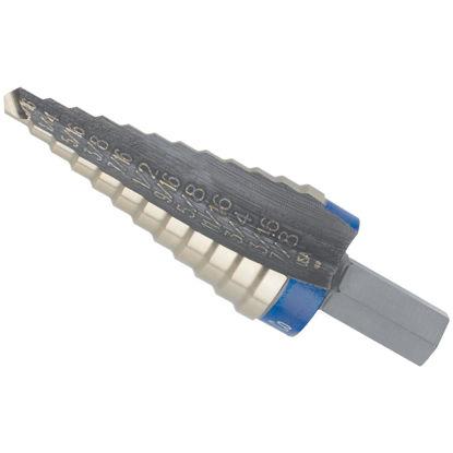 Picture of Irwin Unibit 3/16 In. - 7/8 In. x 1/16 In. #4 Step Drill Bit