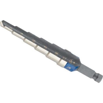 Picture of Irwin Unibit 3/16 In. - 1/2 In. x 1/16 In. #2 Step Drill Bit