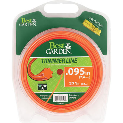 Picture of Best Garden 0.095 In. x 271 Ft. 7-Point Trimmer Line
