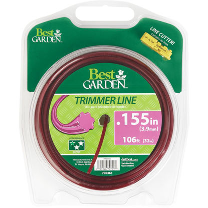 Picture of Best Garden 0.155 In. x 106 Ft. 7-Point Trimmer Line