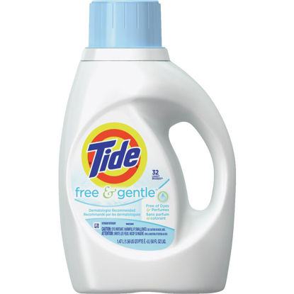 Picture of Tide 50 Oz. 32 Load Free & Gentle Liquid Laundry Detergent