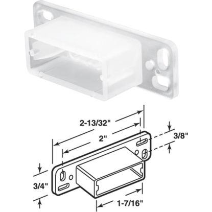 """Picture of SLIDE-CO 2-13/32"""" x 1-7/16"""" Side Track Socket"""