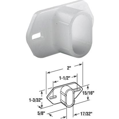 Picture of SLIDE-CO 1/2 In. x 7/8 In. Nylon White Track Socket