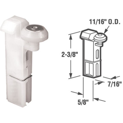 Picture of Slide-Co 11/16 In. Top Hung Screen Door Roller Assembly (2-Count)