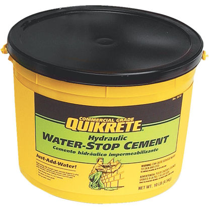 Picture of Quikrete 10 Lb Pail Hydraulic Water Stop Cement