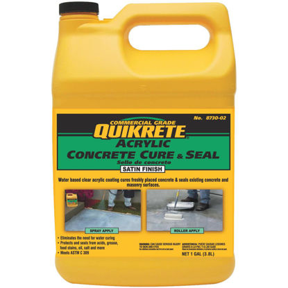 Picture of Quikrete Clear Satin Concrete Sealer, 1 Gal.