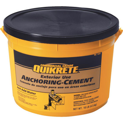 Picture of Quikrete 10 Lb Pail Anchoring Cement