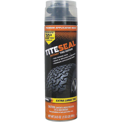 Picture of Tite-Seal 24-1/2 Oz. Aerosol Truck & SUV Tire Puncture Sealer and Inflator (with 8 In. Applicator Hose)