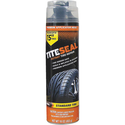 Picture of Tite-Seal 16 Oz. Aerosol Truck & SUV Tire Puncture Sealer and Inflator (with 8 In. Applicator Hose)