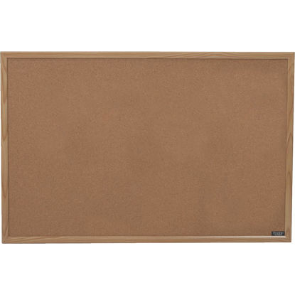 Picture of The Board Dudes 35 In. x 23 In. Cork Bulletin Board