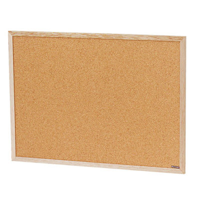 Picture of The Board Dudes 23 In. x 17 In. Cork Bulletin Board