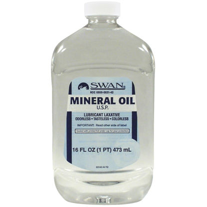 Picture of Swan 16 Oz. Tasteless Mineral Oil