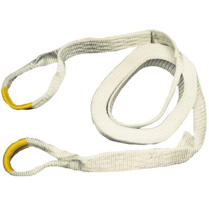 Picture of Erickson 2 In. x 30 Ft. 9000 Lb. Polyester Recovery Tow Strap, White