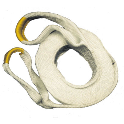 Picture of Erickson 3 In. x 20 Ft. 13,500 Lb. Polyester Recovery Tow Strap, White