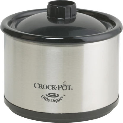 Picture of Crock-Pot 0.5 Qt. Stainless Steel Slow Cooker