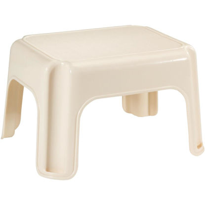 Picture of Rubbermaid Bisque 1-Step Stool