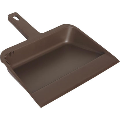 Picture of Impact 12 In. Brown Plastic Dust Pan