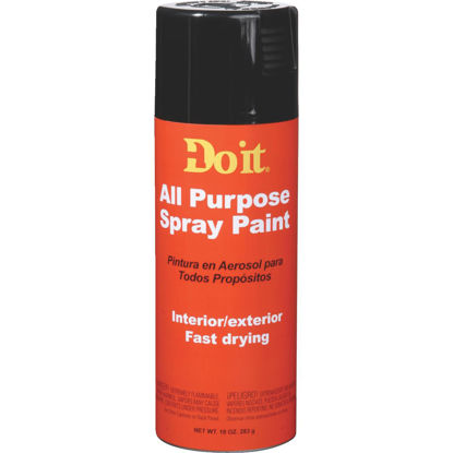 Picture of Do it 10 Oz. Gloss All Purpose Spray Paint, Black