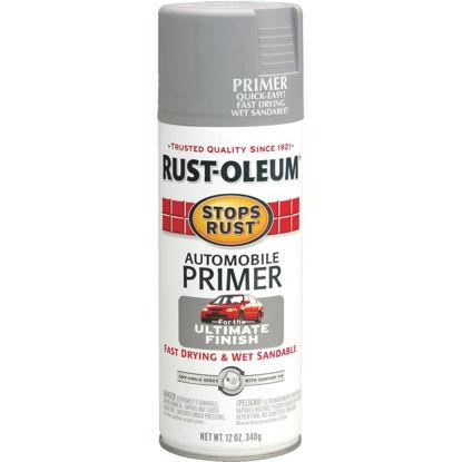 Picture of Rust-Oleum Stops Rust Light Gray 12 Oz. Aerosol Automotive Paint Primer
