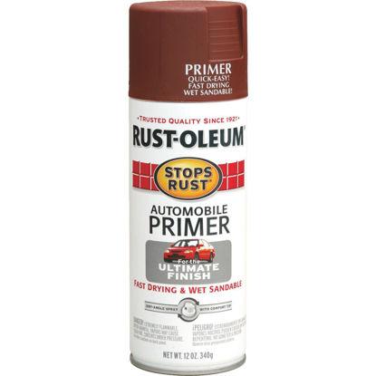 Picture of Rust-Oleum Stops Rust Red 12 Oz. Aerosol Automotive Paint Primer