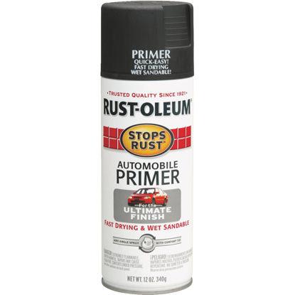 Picture of Rust-Oleum Stops Rust Dark Gray 12 Oz. Aerosol Automotive Paint Primer