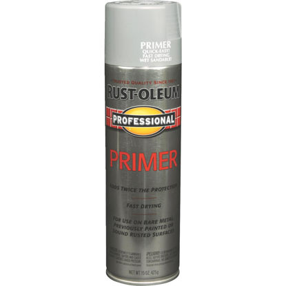 Picture of Rust-Oleum Professional Gray 15 Oz. All-Purpose Spray Paint Primer