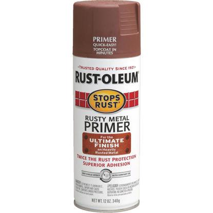 Picture of Rust-Oleum 12 Oz. Brown Rusty Metal Spray Primer