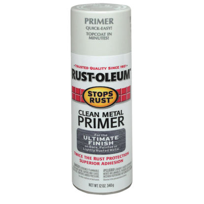 Picture of Rust-Oleum 12 Oz. White Clean Metal Spray Primer
