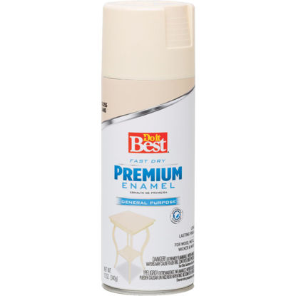 Picture of Do it Best Premium Enamel 12 Oz. Gloss Spray Paint, Sand