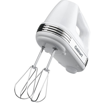 Picture of Cuisinart Power Advantage 5-Speed White Hand Mixer