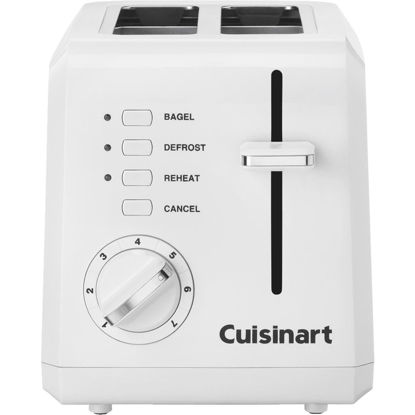 Picture of Cuisinart 2-Slice White Toaster