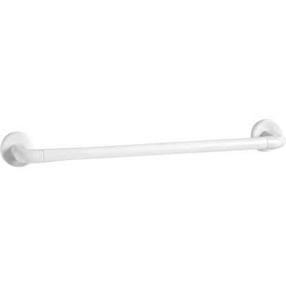 Picture of Homz 18 In. White Plastic Towel Bar