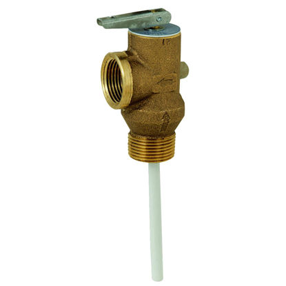 Picture of Reliance 3/4 In. MIPS Inlet X 3/4 In. FIPS Outlet Self-Closing Temperature & Pressure Relief Valve