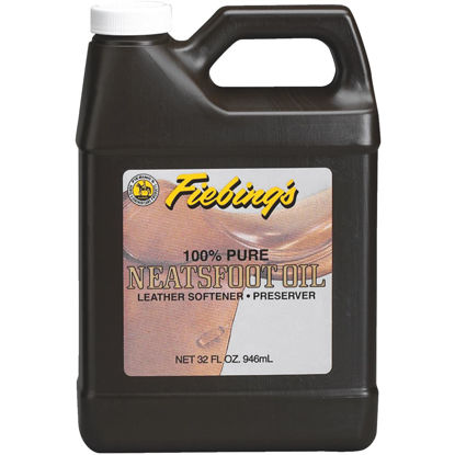 Picture of Fiebing's 32 Oz. Neatsfoot Oil Leather Care Conditioner