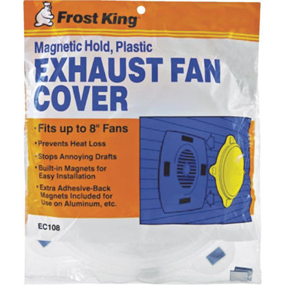 Picture of Frost King 10-1/4 In. Dia. White Plastic Exhaust Fan Cover