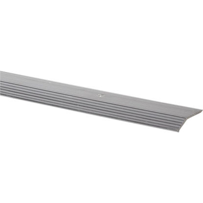 Picture of Do it Satin Silver Fluted 1-3/8 In. x 6 Ft. Aluminum Carpet Trim Bar, Wide