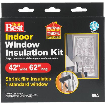 Picture of Do it Best 42 In. x 62 In. Indoor Shrink Film Window Kit